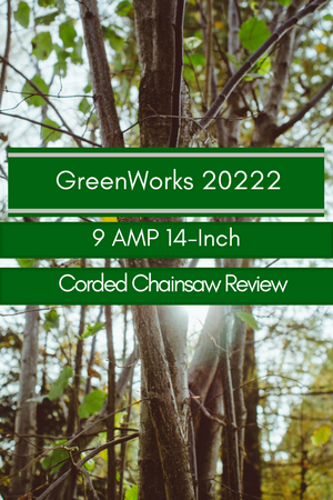 GreenWorks 20222 9 Amp 14-inch Corded Chainsaw Review