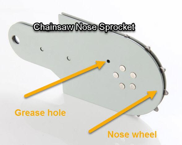 Nose sprocket