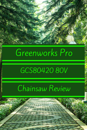 GreenWorks Pro GCS80420 80V Chainsaw Review