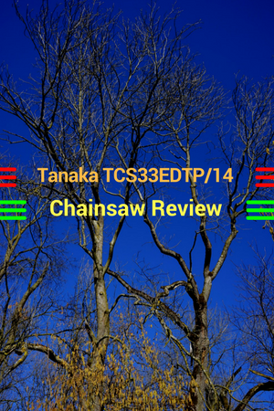 Tanaka TCS33EDTP/14 32.2cc 14-Inch Top Handle Chainsaw
