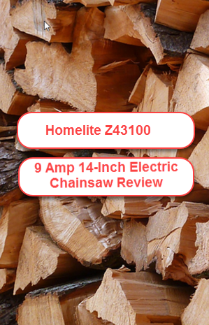 Homelite ZR43100 9 0 Amp 14-in Electric Chain Saw Review