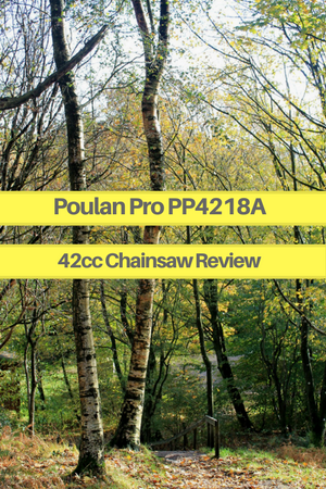 Poulan Pro PP4218A 42cc Chainsaw Review