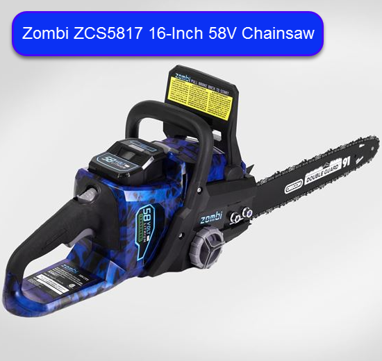 Zombi zcs5817 58v cordless electric chainsaw sawedfish zombi zcs5817 16 inch 58 volt chainsaw review greentooth