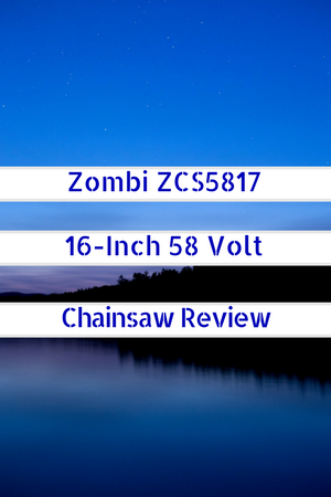 Zombi ZCS5817 58V Cordless Electric Chainsaw