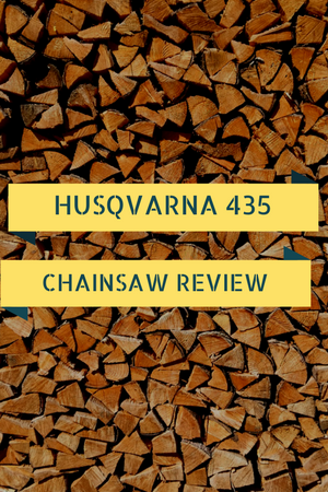 Husqvarna 435 16-Inch 40.9cc Gas Chainsaw Review