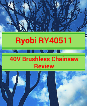 Ryobi RY40511 40V Brushless Chainsaw Review
