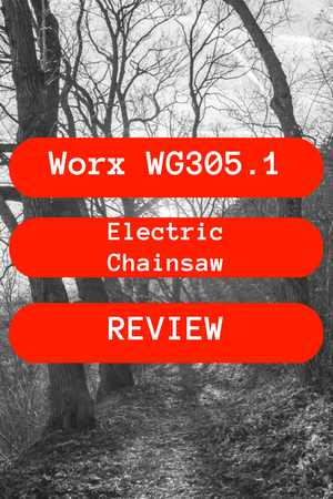 Worx WG305.1 Electric Chainsaw Review